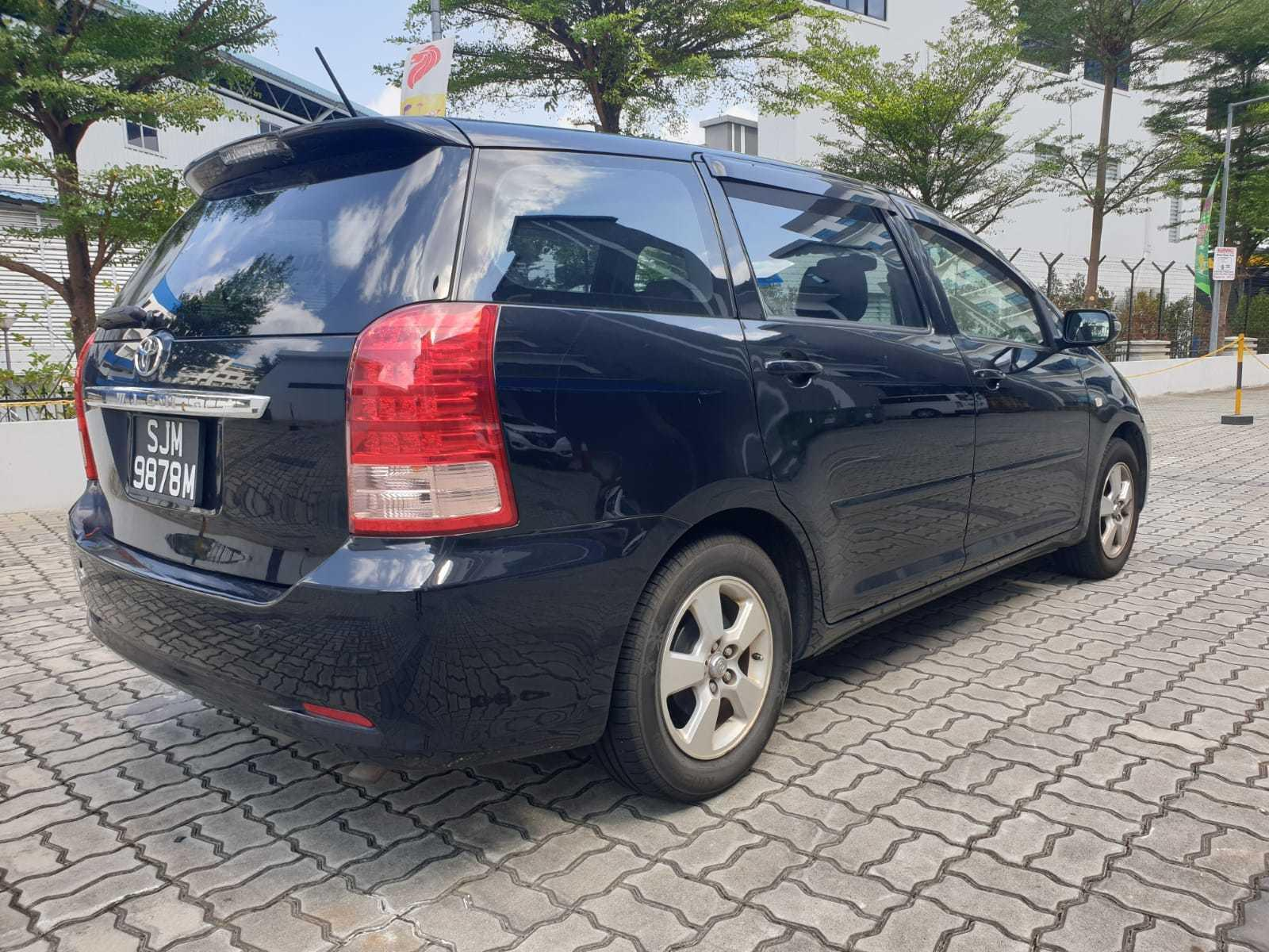Toyota Wish 1.8A - Lowest rental rates, with many choices to choose from!