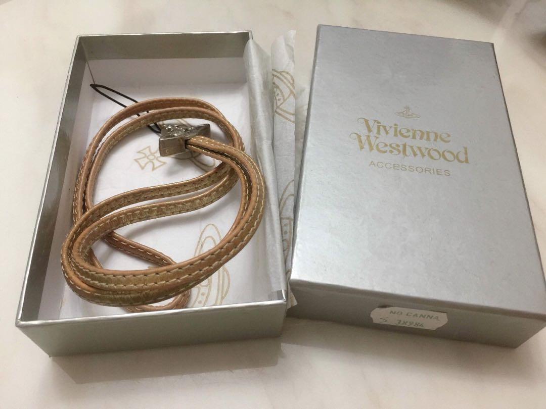 Vivienne Westwood 電話繩 金色