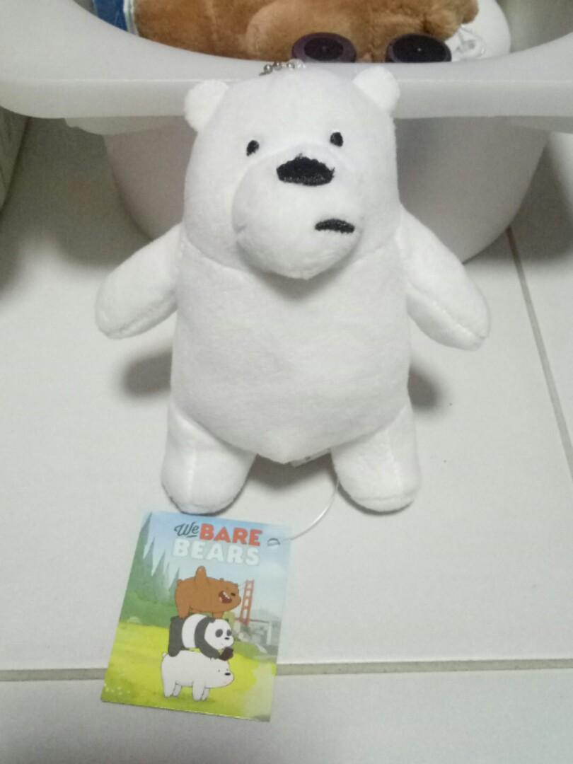 We Bare Bears plushie keychain