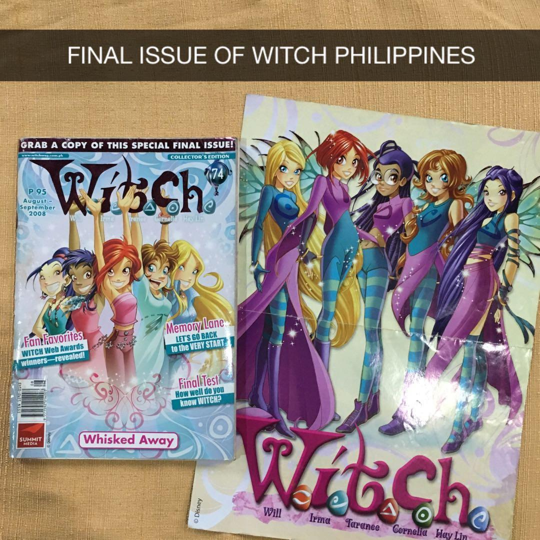 W.I.T.C.H. Magazines Bundle with Final WITCH Philippines Issue, Posters, and More