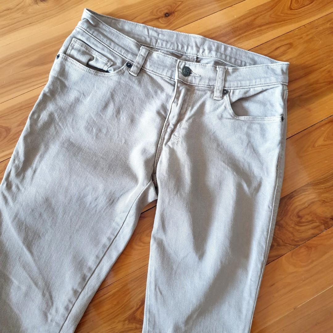 Women's size 27 = 8 'KSUBI' Gorgeous tan skinny jeans- AS NEW