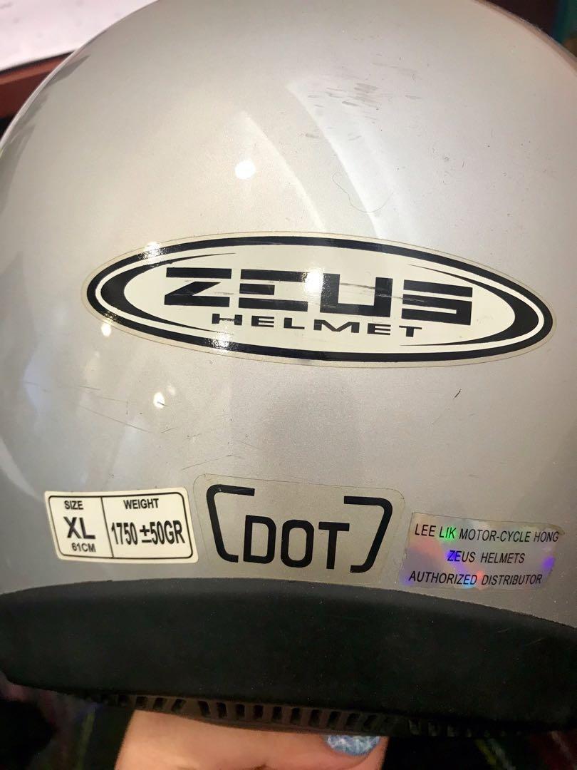 Zeus頭盔 (XL)
