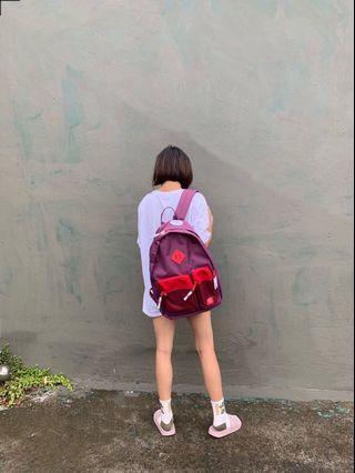 Parkland紫紅後背包
