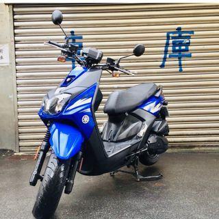 【寄賣】2015年山葉BWSR液晶版125CC噴射版(藍黑)