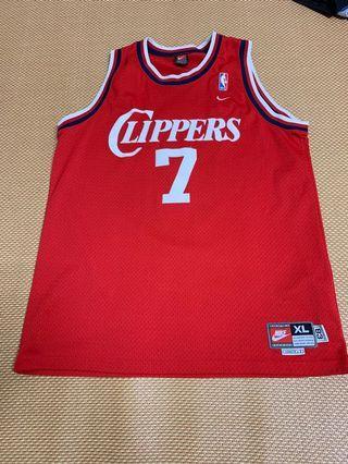 Nike Swingman LA clippers 洛杉磯快艇 Lamar Odom XXL