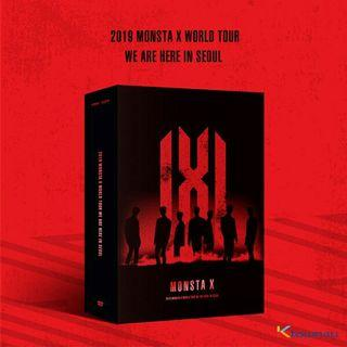 [PRE-ORDER][INCL POSTAGE] MONSTA X - WORLD TOUR WE ARE HERE IN SEOUL 2019 DVD