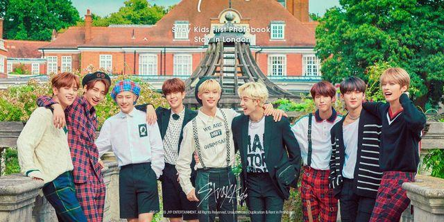 [PRE-ORDER][INCL POSTAGE] STRAY KIDS FIRST PHOTOBOOK (STAY IN LONDON)