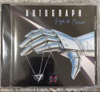 AUTOGRAPH - SIGN IN PLEASE / CD