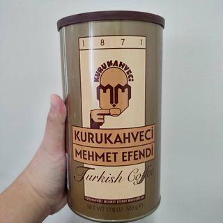 **Turkish Bazaar / 土耳其咖啡冠軍咖啡/美美先生Mehmet Efendi 容量500g 價格750