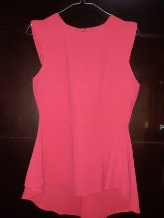 Pink Top - new look