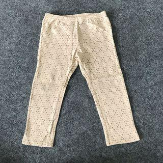 Tiny Button Pants Leggings