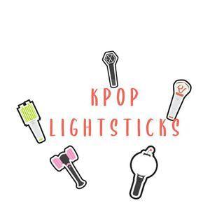 [PRE-ORDER][INCL POSTAGE]K-Pop Lightsticks