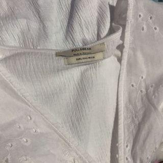 (NEW) Pull&Bear White Blouse