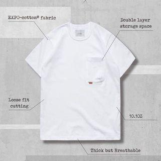 Goopi Type-w 3D Pocket Tee 1號