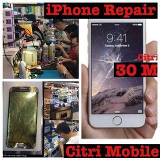 iPhone 7 8 9 X XR XS Screen LCD Battery Camera Glass Phone Repair Service Replacement Repair Service, Huawei Mate 20 Pro Nova 3i Samsung Phone S8 S9 S10 + Note 5 8 9 Screen Crack Glass Repair Service