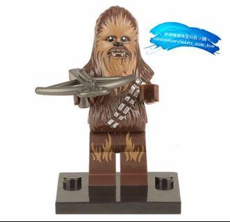 Chewbacca Chewie @Star Wars Mini Figures 《星戰》丘巴卡人仔