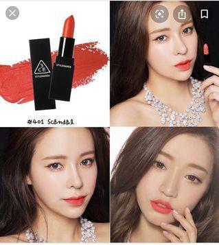 3CE 401 scandal lipstick