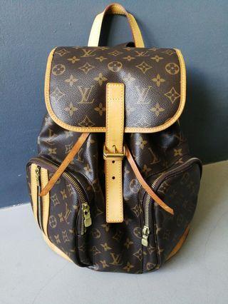 LV Louis Vuitton Monogram Canvas Sac a Dos Bosphore Backpack
