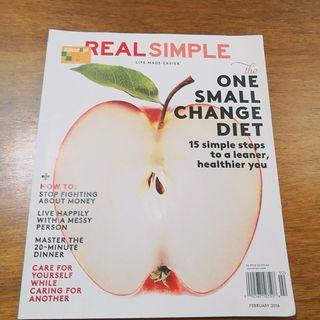 Real Simple Magazine February 2016
