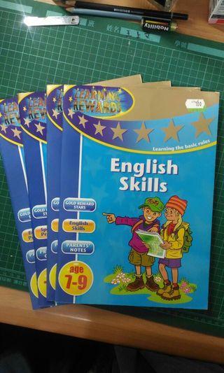 英文遊戲練習書