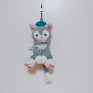 香港迪士尼畫家貓吊飾