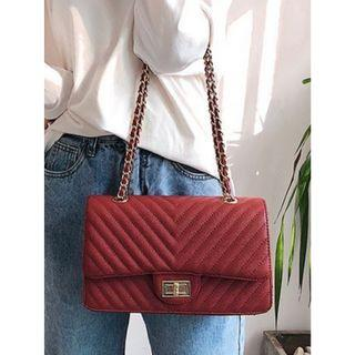 Instock Ladies Leather Sling Bag