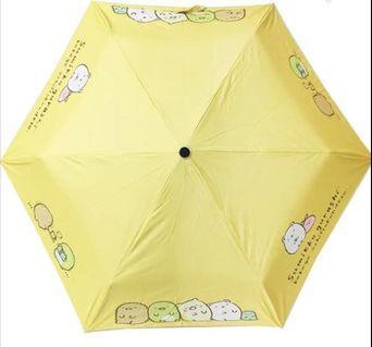 角落生物 雨傘 折疊傘 清量 正版