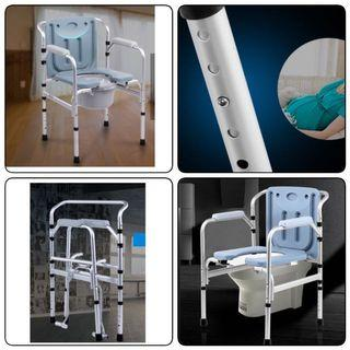 Upgraded Premium Toilet commode /Shower Chair