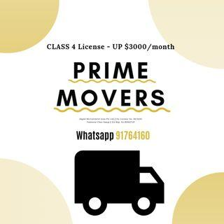 PRIME MOVERS @ EAST & WEST! UP $3,000/MONTH!