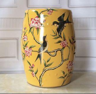 Big offer Porcelain Stool/Side Table