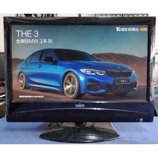 中古液晶電視 22吋 聲寶 SAMPO LM-22S6E 二手液晶電視