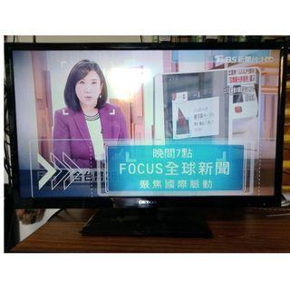 中古液晶電視 32吋 LED 白牌 SF-32HV01 二手液晶電視