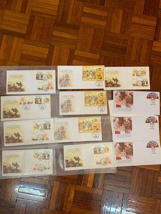 Malaysia China relationship first day covers