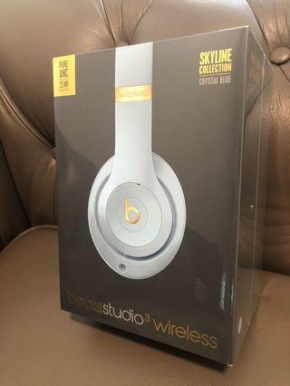 Beats Studio 3 Wireless - Skyline Collection (Crystal Blue)