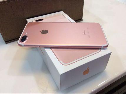 Apple iPhone 7 Plus 玫瑰金 128 G