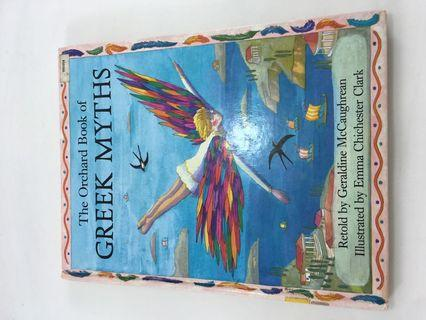 HARDCOVER The Orchard Book of Greek Myths