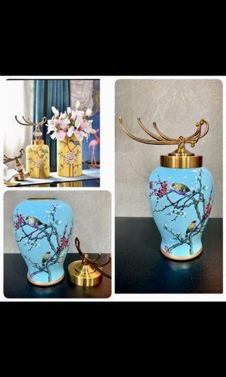 32cm Porcelain Vase or Jar