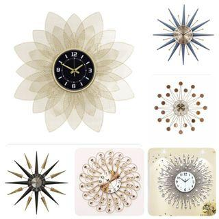 Beautiful Wall Clocks of various sizes and designs