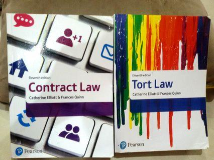 A Levels A2 UOL Year 1 / UOL Year 2 Contract Law & Tort Law 11th Edition by Catherine Elliott | Frances Quinn