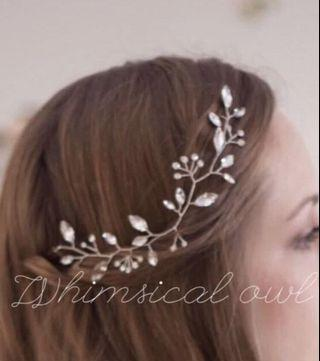 BN bridal hair piece