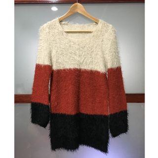 【二手】韓系長版毛衣(八成新)