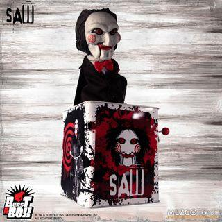 [Pre-order] Mezco - Burst-A-Box - Saw: Billy
