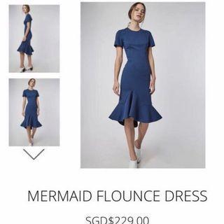 BNWT Collate the Label Mermaid Flounce Dress