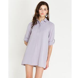 shopsassydream ssd ondine shirtdress in grey