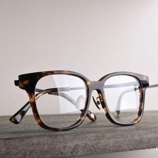 Classico M20 玳瑁寬版方框眼鏡 / 復古經典眼鏡