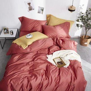 全新出清降價 純棉60支數床包四件組