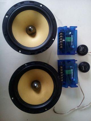 AudioBank USA original 6inch speaker ..crossover and tweeter