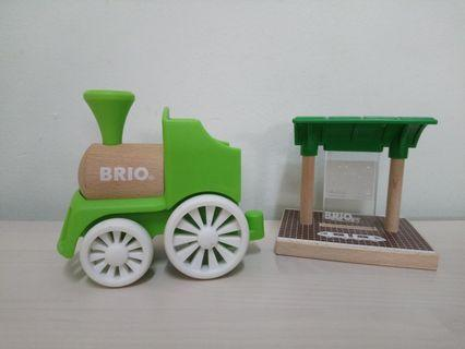 Brio Wooden Train n Station