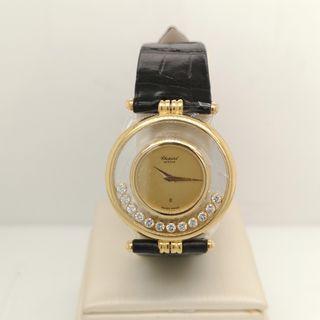Chopard Happy Diamond Yellow Gold Watch