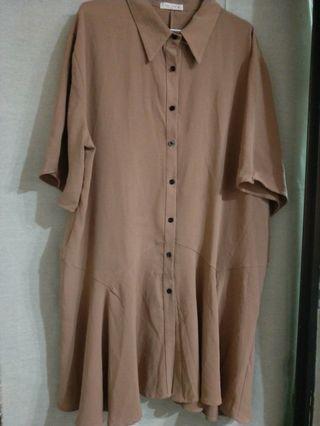 7分袖連身裙
